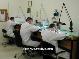 Watchmakers at the bench