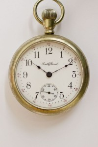 South Bend Pocket Watch, Lever Set