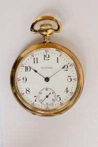 Waltham Pocket Watch, Pendant Set, Gold Filled
