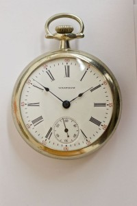 Waltham Pocket Watch, Pendant Set