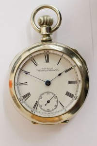 Waltham Pocket Watch, Pendant Set