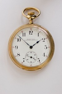 Puritan, Elgin Pocket Watch, Pendant Set