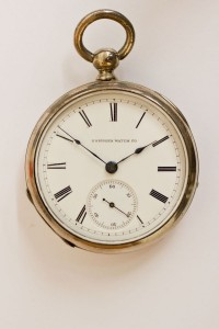 Hampden Pocket Watch, Key Wind, Key Set