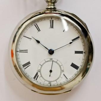 Waltham Pocket Watch, Key Wind, Key Set