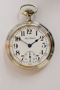 Illinois Pocket Watch, Lever Set