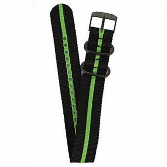 Black and Green NATO Strap.jpg